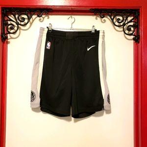 MEN'S NBA Authentic San Antonio Spurs Nike Shorts